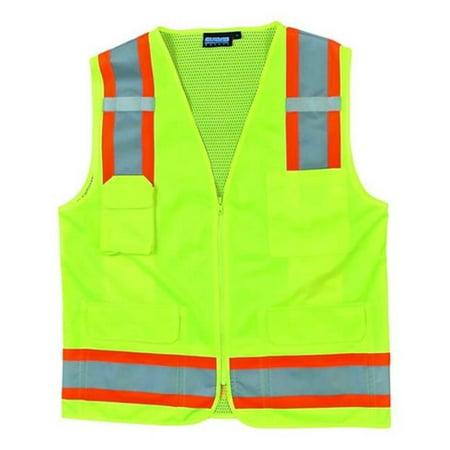 Portwest US380 4XL Hi-Visibility Tampa Mesh Vest, Yellow - Regular - image 1 of 1