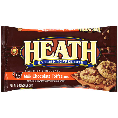 Heath Milk Chocolate English Toffee Bits, 8 oz