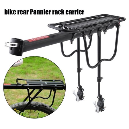 RoseYes Quick Release Bicycle Rear Rack Bike Luggage Carrier Seatpost Bag Holder - image 1 de 10
