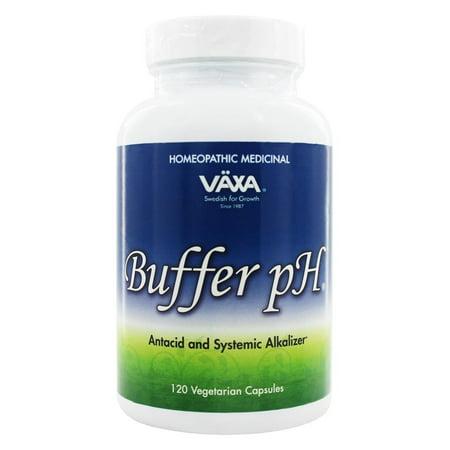 Vaxa Buffer (Vaxa - Buffer pH - 120 Vegetarian Capsules)