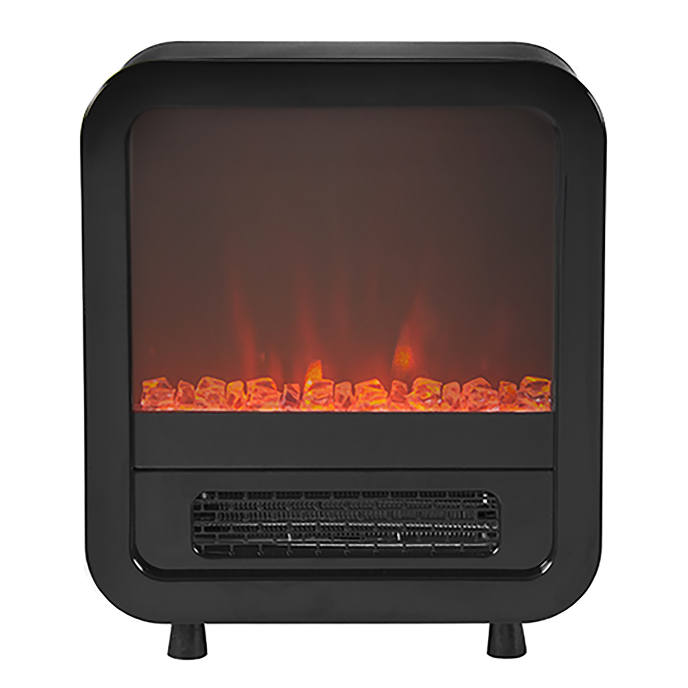 Electric Adjustable Fireplace Portable Mini Compact Indoor Heater ...
