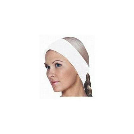 Scalpmaster Waffle Weave Velcro Spa Headband / White (3088)](White Headband)