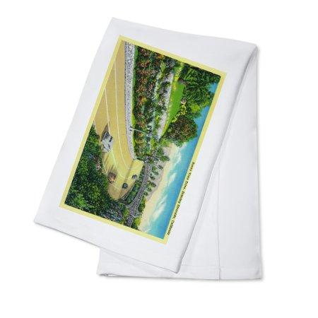 Buena Vista Drive, Entering Riverside (100% Cotton Kitchen Towel) ()