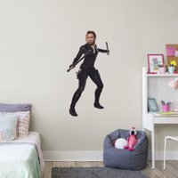 Fathead Avengers: Endgame - Black Widow: In Action - Giant Officially Licensed Marvel Removable Wall Decal