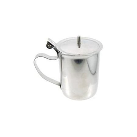 China Creamer Pitcher - Winco SCT-10 Stainless Steel Creamer with Cover, 10-Ounce