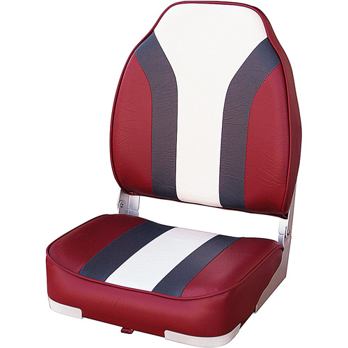 Wise Boat Seat, Red/Charcoal/White