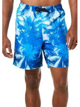 Reel Legends Mens Aquatica Hammock View Boardshorts X-Large Blue