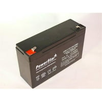 PowerStar AGM612-32 6V 12Ah Portalac GS PE6V12 Emergency Replacement Light Battery