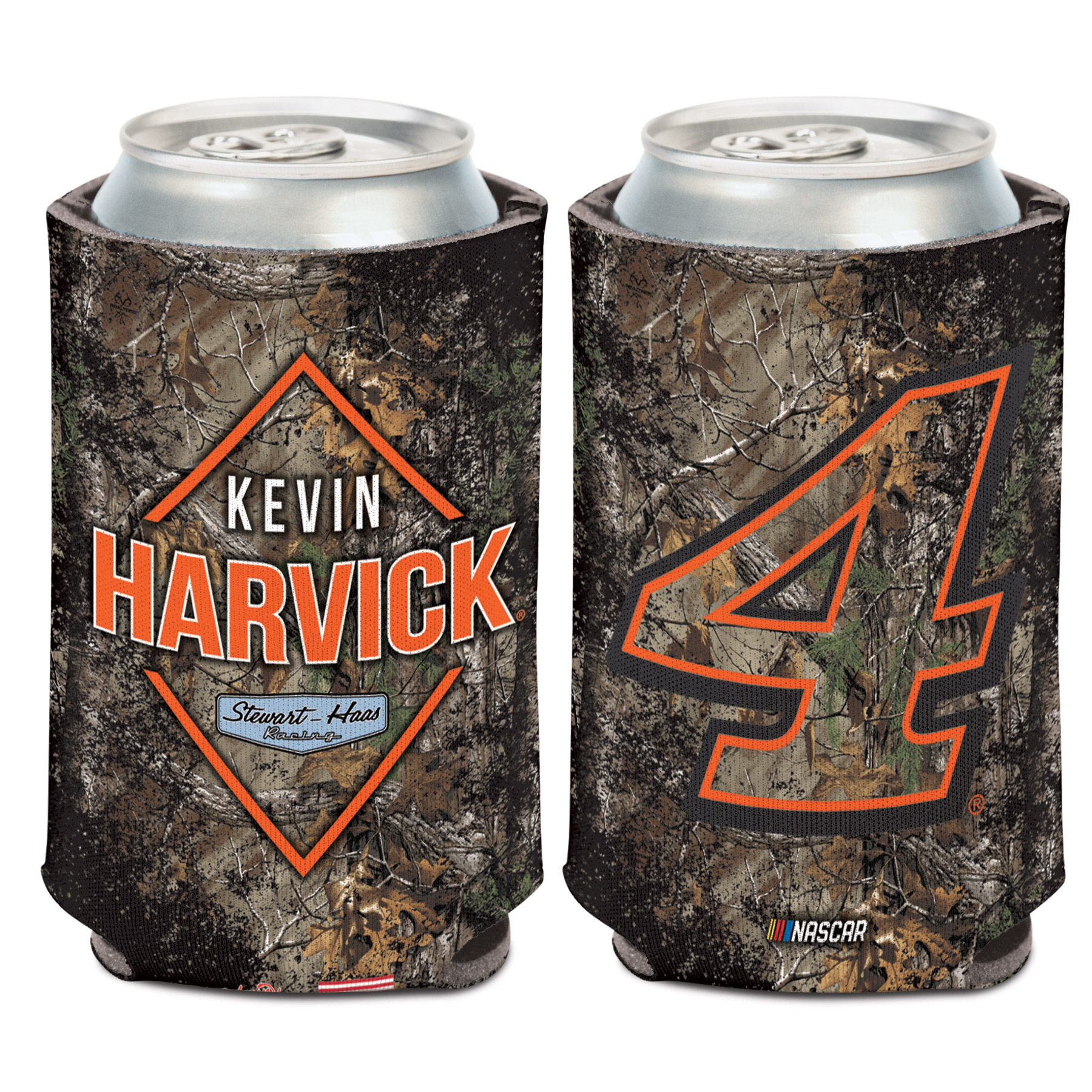 Kevin Harvick WinCraft 12oz. Camo Can Cooler - No Size