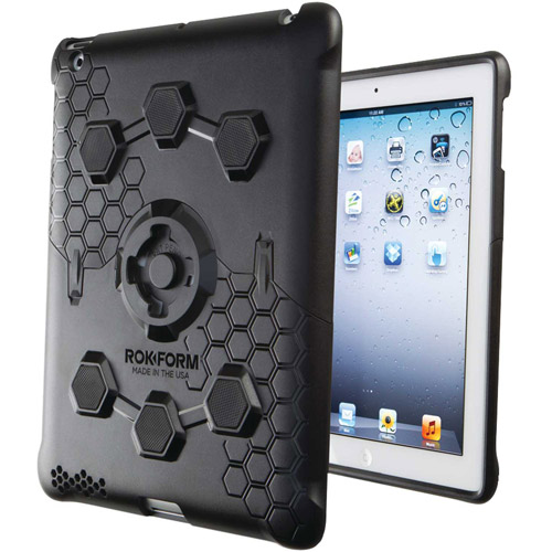 Rokform  iPad 2/3/4 RokLock v3 Case Kit, Pitch Black