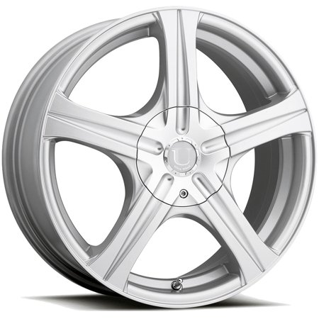 "18"" Inch Ultra 403S Slalom 18x7.5 5x112/5x120 +45mm Silver Wheel Rim"