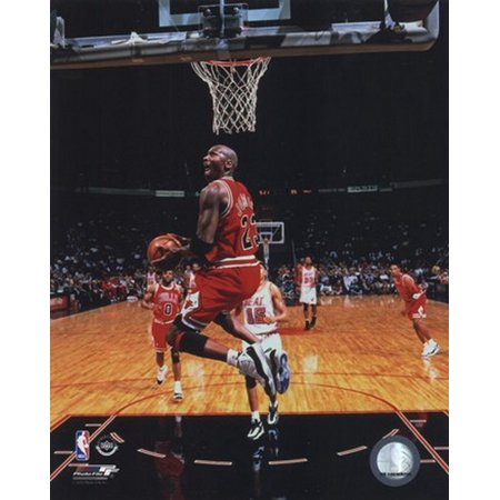 Michael Jordan 1996 Action Sports Photo ()