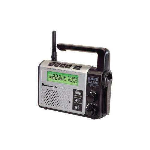 Midland EMERGNCY CRNK RADIO GMRS MDLXT511