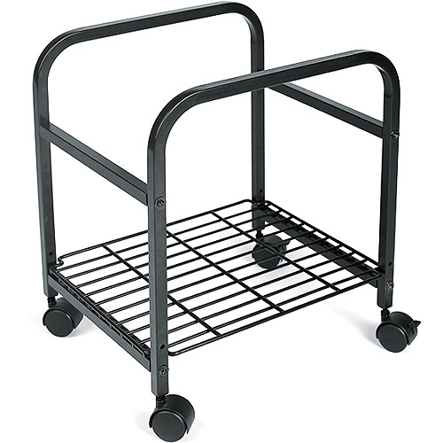 Cropper Hopper Heavy Duty Rolling Cart, Black 17.375X14.375X20
