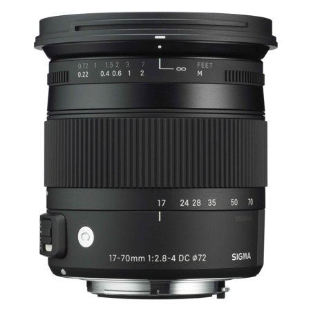 Sigma 884205 F2.8-4 Contemporary DC Macro OS HSM 17-70mm Fixed Lens for Sony Alpha
