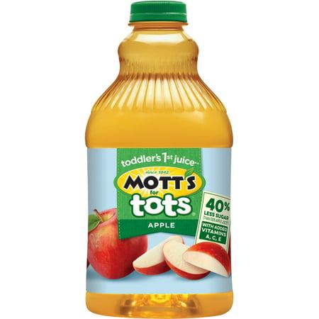 Mott's for Tots 100% Fruit Juice, Apple, 64 Fl Oz, 1 Count