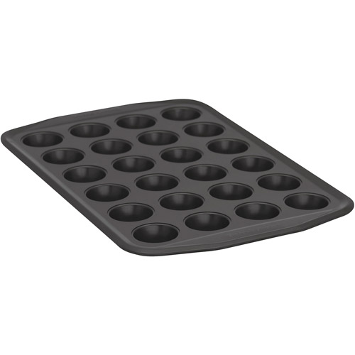 Baker's Secret Signature 24-Cup Muffin Pan, Steel