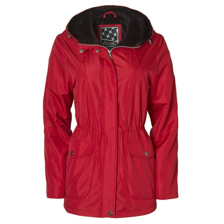 Women's Plus Size Hooded Anorak W/Sheared Pile Lining