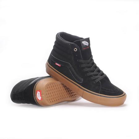 Vans Sk8 Hi Pro black gum Skate Schuhe schwarz