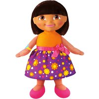 Fisher-Price Singing Birthday Dora the Explorer Doll