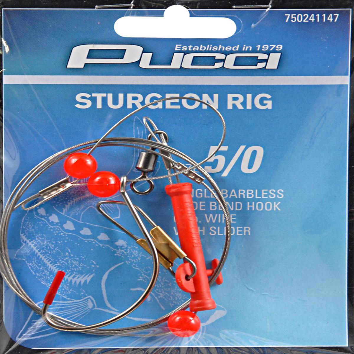 P-Line Sturgeon Rig with Slider