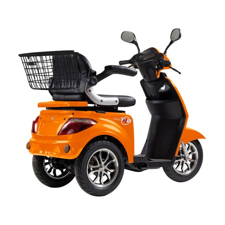 T4B LU-500W Mobility Electric Recreational Outdoors Scooter 48V20AH with Three Speeds, 14/22/32kmph - Orange - image 1 de 14