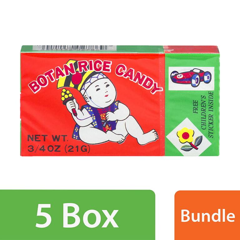 (5 Pack) Botan Rice Candy, 0.75 Oz