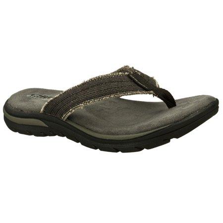 Men's Skechers Bosnia 64152 Flip-Flops Cheapest online QFnLDRo