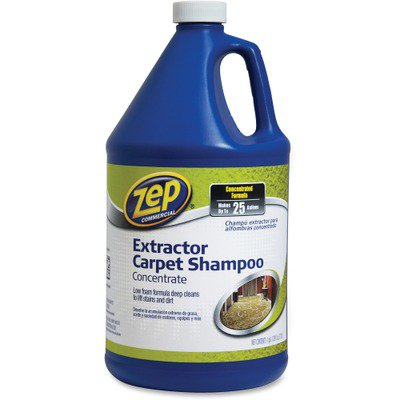 Concentrated Carpet Shampoo - Zep Concentrated Carpet Extractor Shampoo ZPEZUCEC128