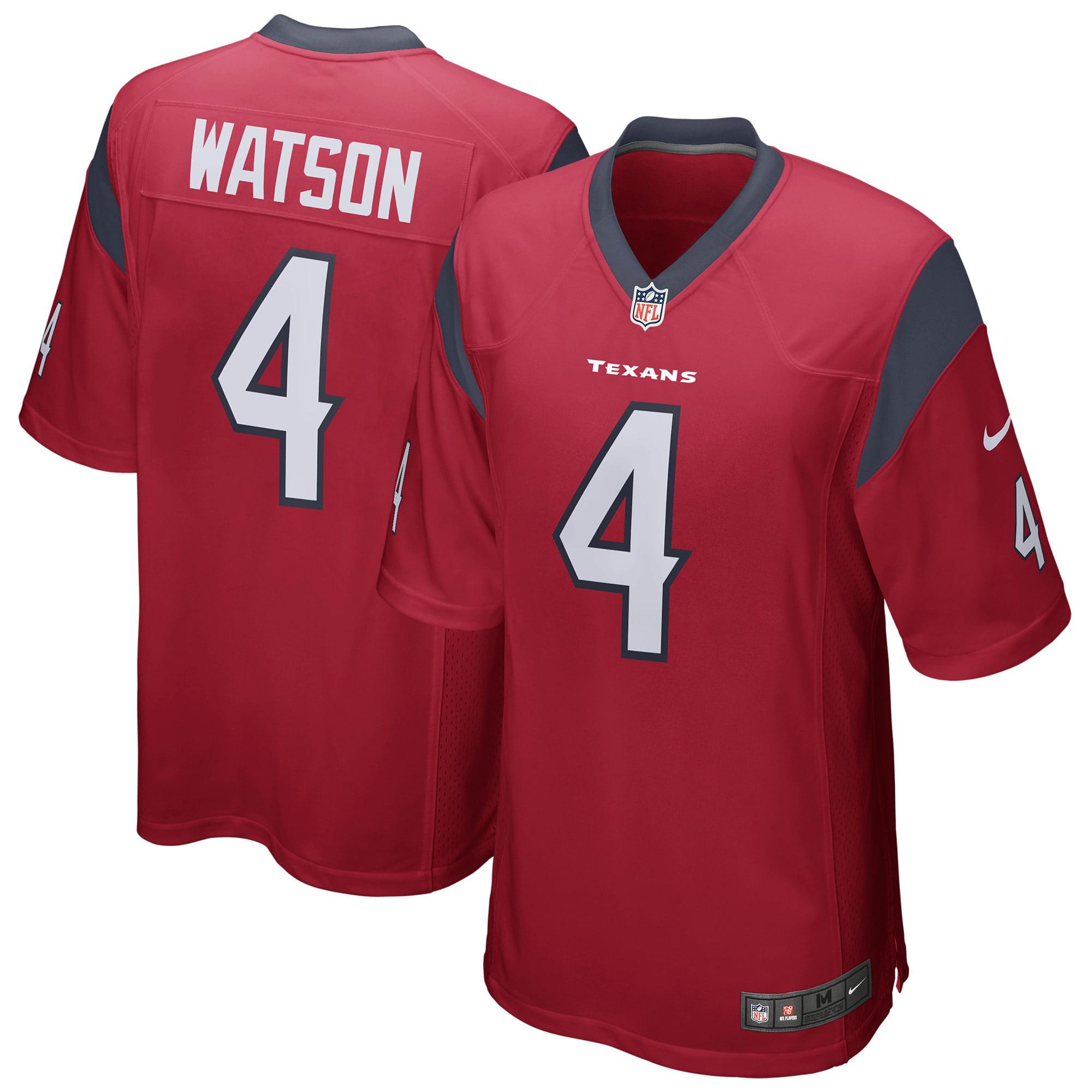 Deshaun Watson Houston Texans Nike Youth Game Jersey - Red ...