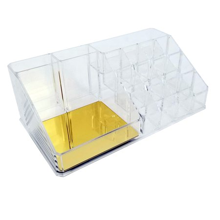 OnDisplay Annie Deluxe Acrylic Cosmetic/Jewelry Organization (Beautician Cosmetic Organization System With Mirror Bino)