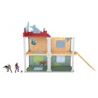 Fortnite Battle Royale Collection Mega Fort Playset & 2 Exclusive Figures: Blue Squire & Tricera Ops