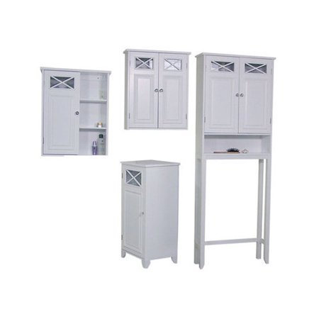 Bundle 68 elegant home fashions dawson 25 39 39 x 68 39 39 over for Bathroom cabinets over toilet walmart