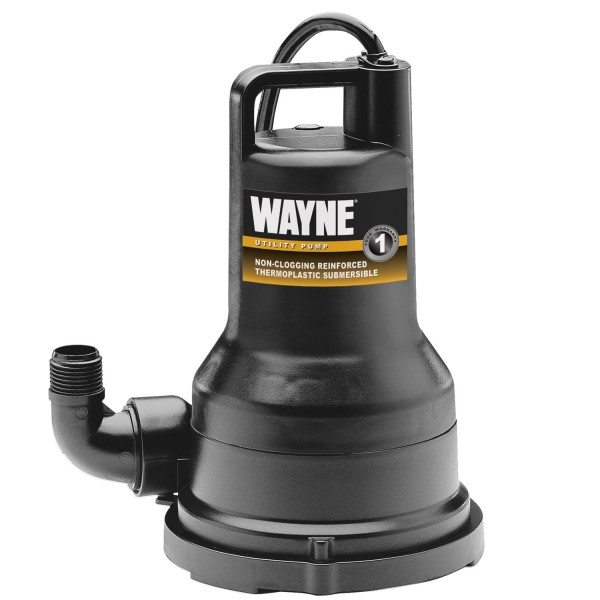 WAYNE VIP50 1/2 HP Thermoplastic Portable Water Removal Pump