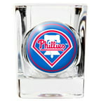 Philadelphia Phillies MLB Square Shot Glass Great American Products 769548