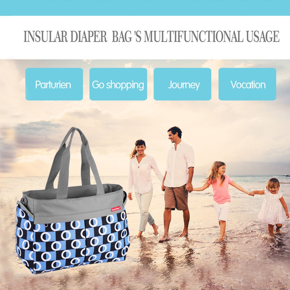 OUTAD Baby Diaper Bag Smart Organizer Waterproof Travel Diaper Backpack