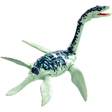 Jurassic World Battle Damage Plesiosaurus Dinosaur Action Figure