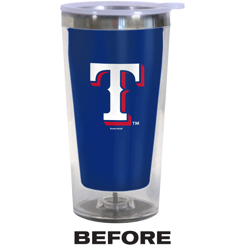 MLB Texas Rangers Color Change Tumbler