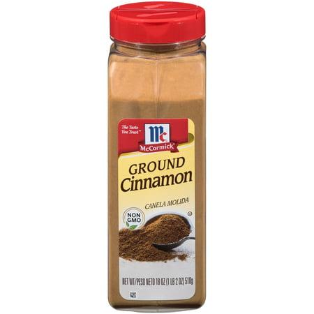 - McCormick Ground Cinnamon, 18 oz Bottle