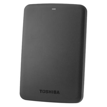 Toshiba 1TB Canvio Basics 3.0 Portable Hard Drive, HDTB310XK3AA