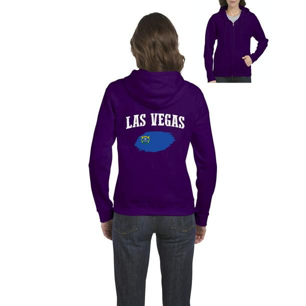 Las Vegas Nv Zip: Las Vegas Nevada Womens Sweaters Zip Up