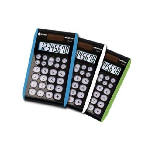 8 digit Hybrid Solar/Battery Powered Slim Line Handheld Calculator DXXDH100