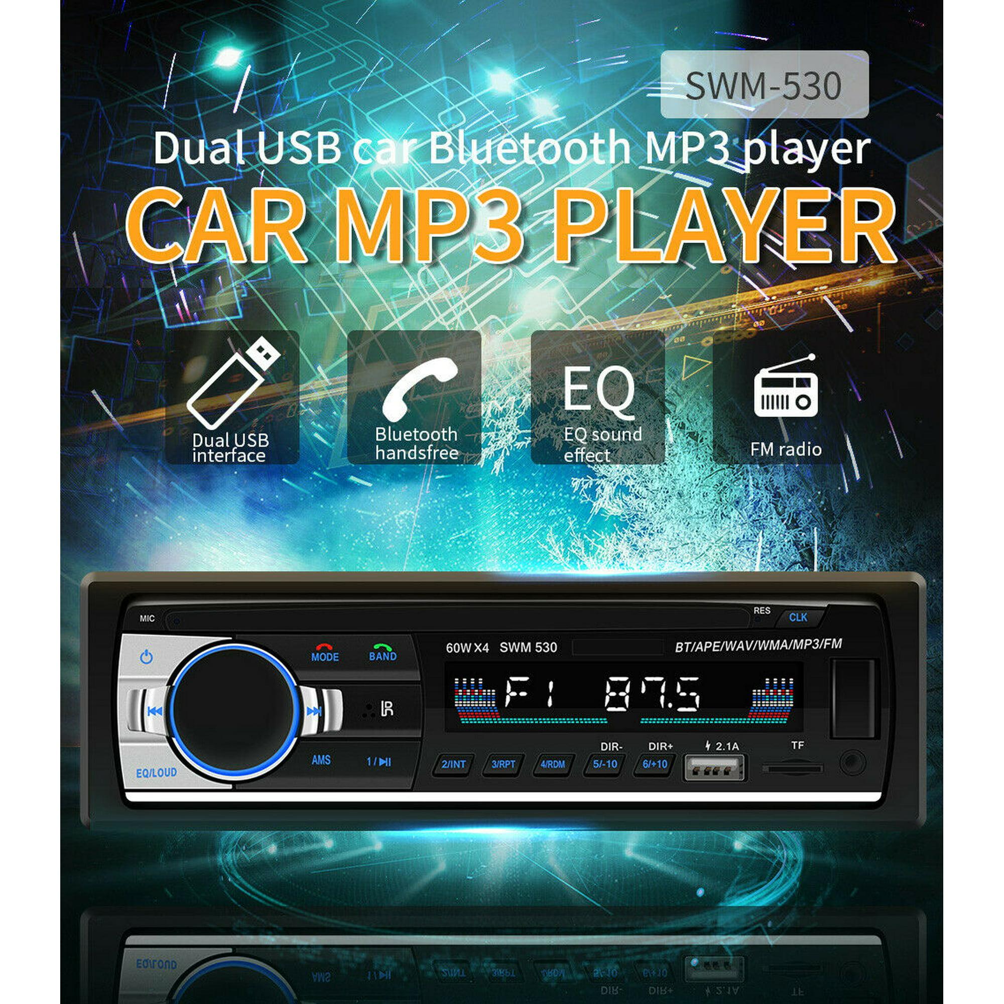 Bluetooth USB Car Stereo Audio In-Dash FM Aux Input Receiver SD MP3