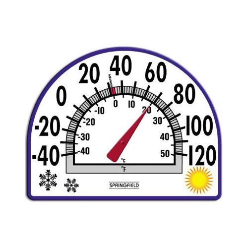 Taylor Precision Products 91157 5-1/2-Inch Window Cling Thermometer