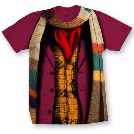 Doctor Who Classic Mens T-Shirt 4Th Doctor Costume](Bts Halloween Lyrics)