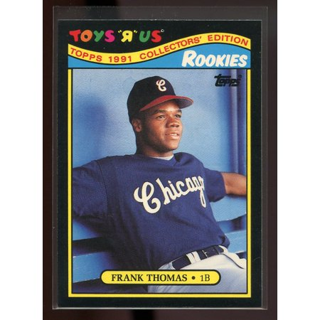 1991 Topps Toys R Us 27 Frank Thomas Chicago White Sox Rookie Card