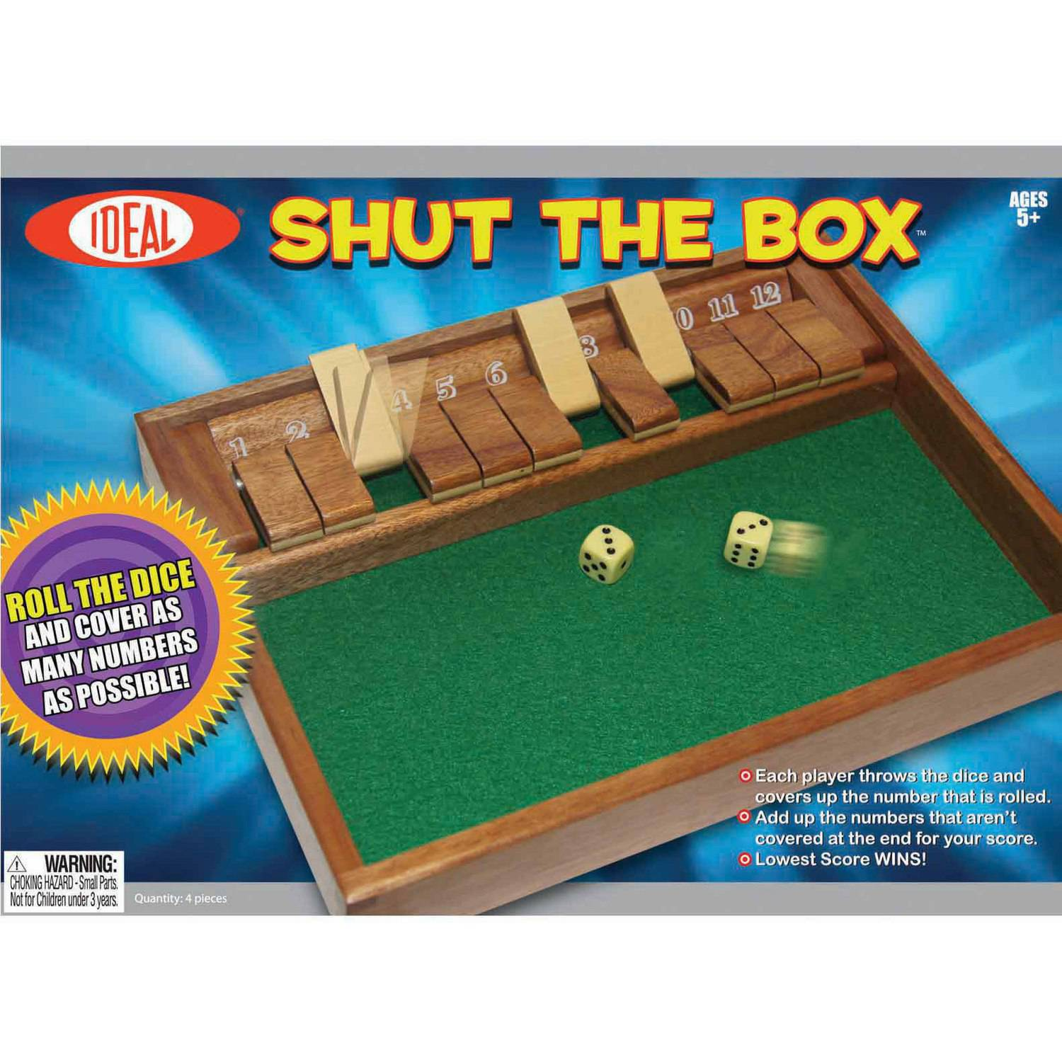Ideal Shut the Box