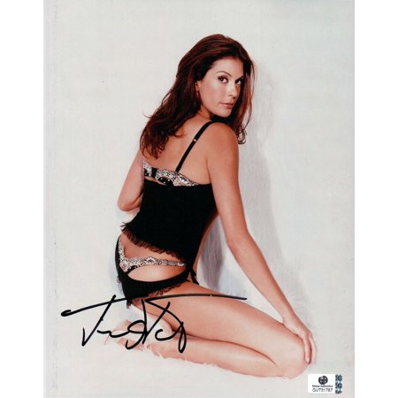 Teri Hatcher Hand Signed Autographed 8x10 Photo Sexy Panties G String GA 731787