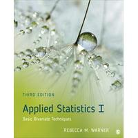Applied Statistics I : Basic Bivariate Techniques (Edition 3) (Paperback)