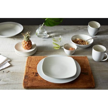 Noritake Colorwave White 4-Piece Square Place (Place Setting Noritake China)